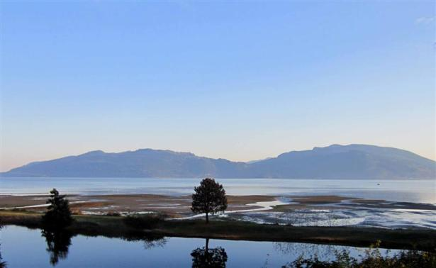 A cold morning on Samish Island